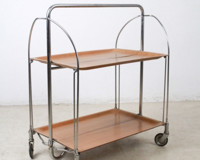 Chrome Tea Trolley from the 70s