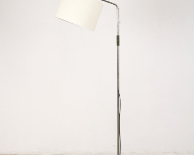 Giant Chrome Floor Lamp from the 70's