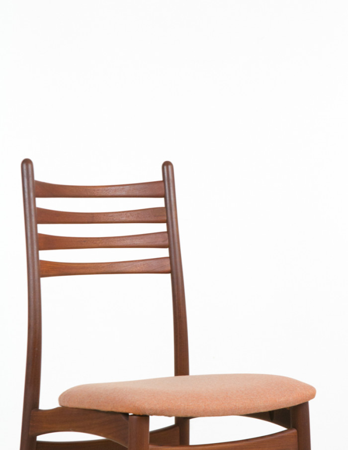 Single_Danish_Teak_Chair_with_Coral_Upholstery_1960s-5