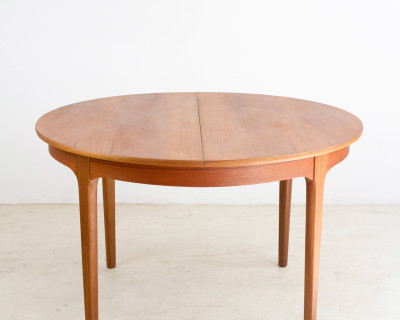 Extendable English Dining Table by Nathan, 1960s