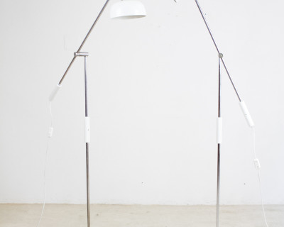 Adjustable Idea Floor Lamp Completely Restored, 1960s (2pcs)