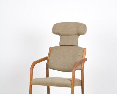 Frauberger – Kahler Artmchair in restored Condition from the 70s