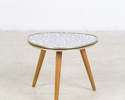 Mosaic Patterned Mini Table from the 60s