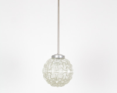 Chrome – Glass Pendant from Peill and Putzler