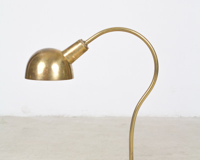Copper Bank Lamp from the 60s