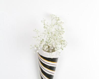 Ceramic Wall Vase from Magyarszombatfa, 1960s