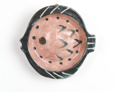 Ceramics Fish Wall Piece, 1960s