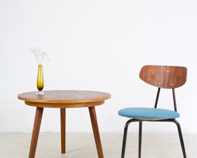 Perfectly restored round Tatra Coffe Table