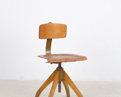 Ama Elastik Nr. 350 DRGM Bauhaus Chair