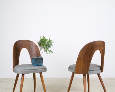 Perfectly Restored Tatra Dining Chair from the 60's (1 left)