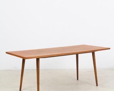 Large Restored Walnut Coffee Table