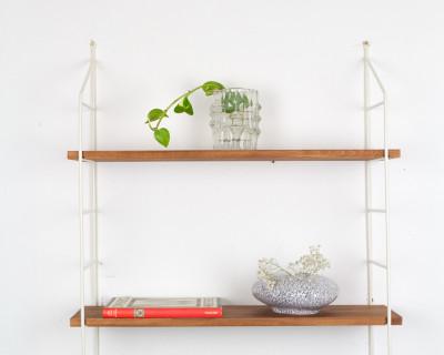 Beige Walnut Shelf Perfectly Restored (2)