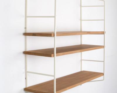 Beige Oak Shelf Perfectly Restored (3)