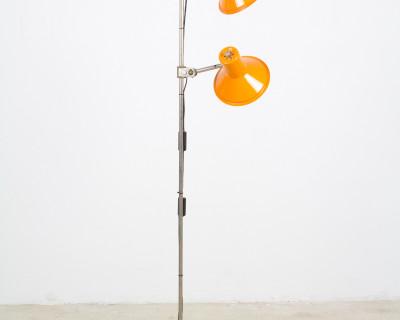 Orange Floor Lamp