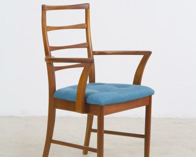 Reupholstered McIntosh Dinging Chair from the 60s
