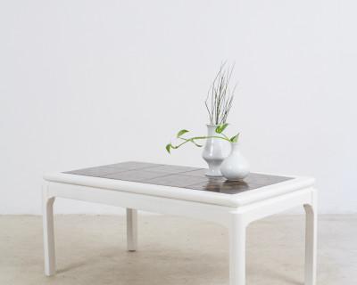 Coffee Table with Artisan Tile Top, 1970s