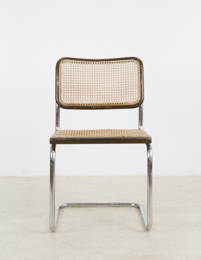 Mid-Century_Vintage_Italian_Walnut_&_Chrome_'Cesca'_Chair-1