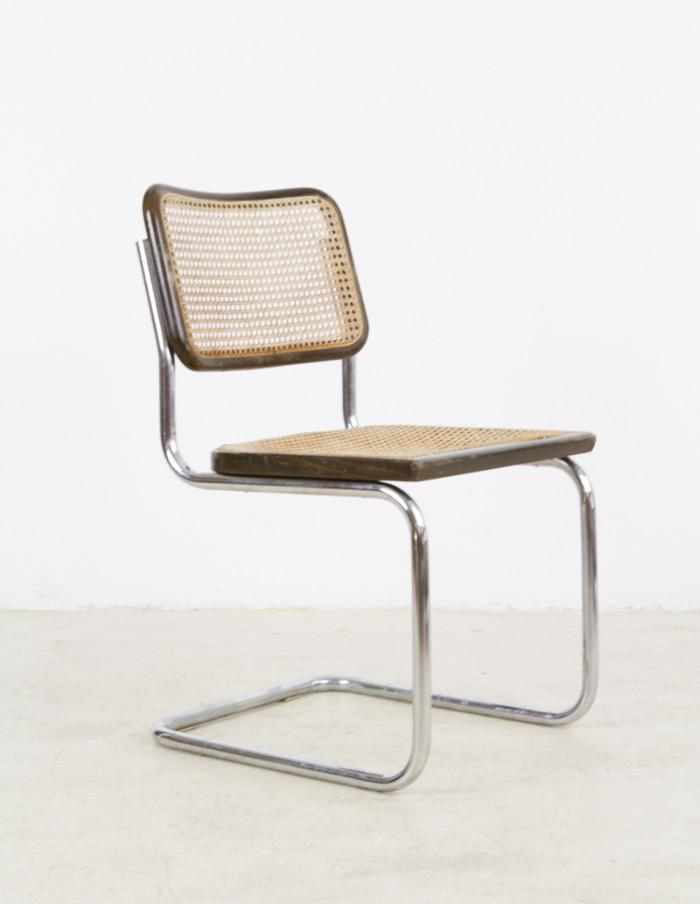 Mid-Century_Vintage_Italian_Walnut_&_Chrome_'Cesca'_Chair-9