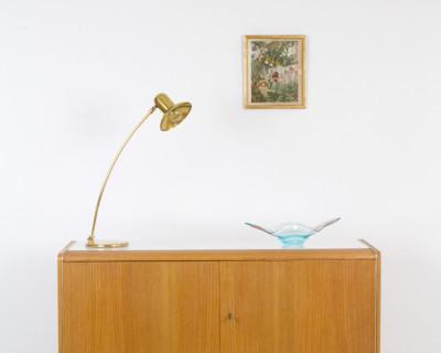 Restored Cabinet by Bohumil Landsman for Jitona with Original Glass Top