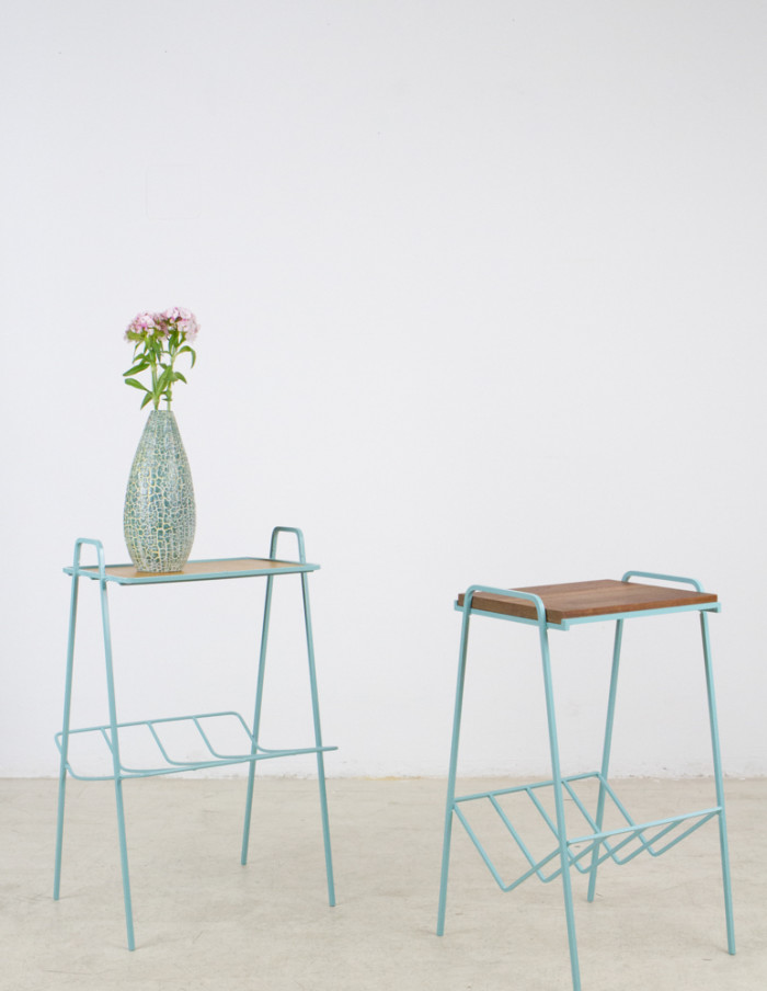 Turquoise_Iron_Side_Table_with_Walnut_Top_1960s-12