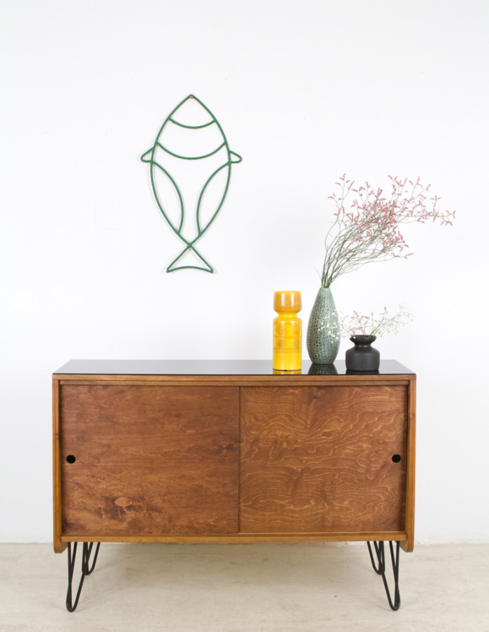 Walnut_Tatra_Sideboard_on_Hairpin_Legs_with_Black_Glass_Top_1960s-18