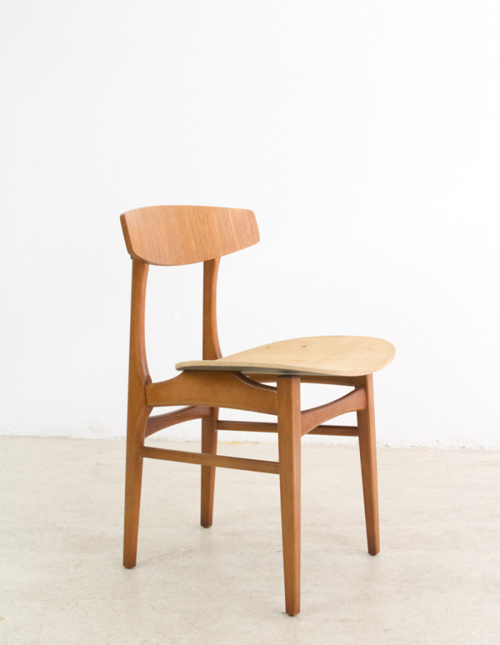 Danish Dining Chair from the 70's, 6pcs-1