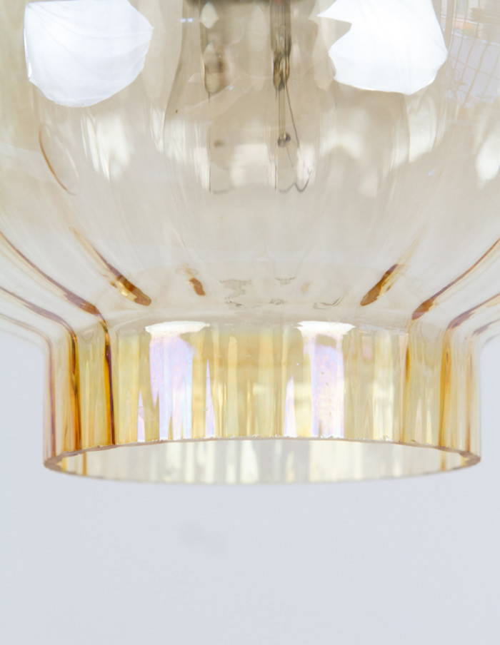 Delicate Champagne Pendant, 1960s-2