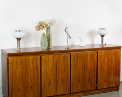 Large Danish Rosewood Sideboard by Skovby