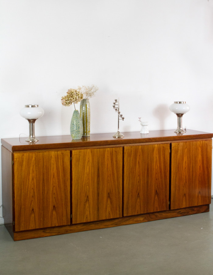 Large Danish Rosewood Sideboard by Skovby -8