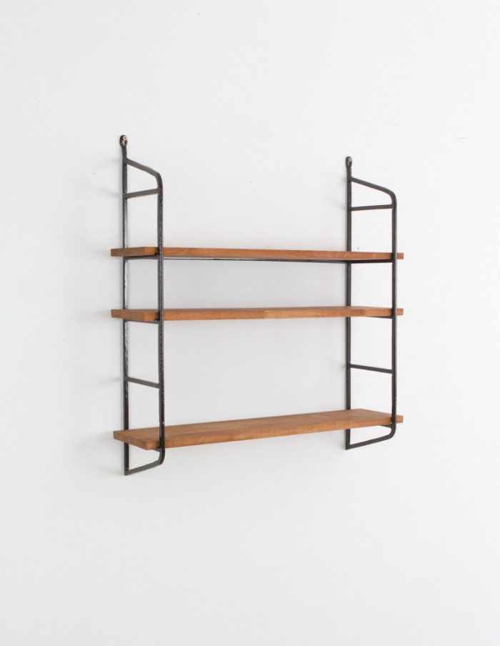 Large Iron Panni Shelf (black)-1