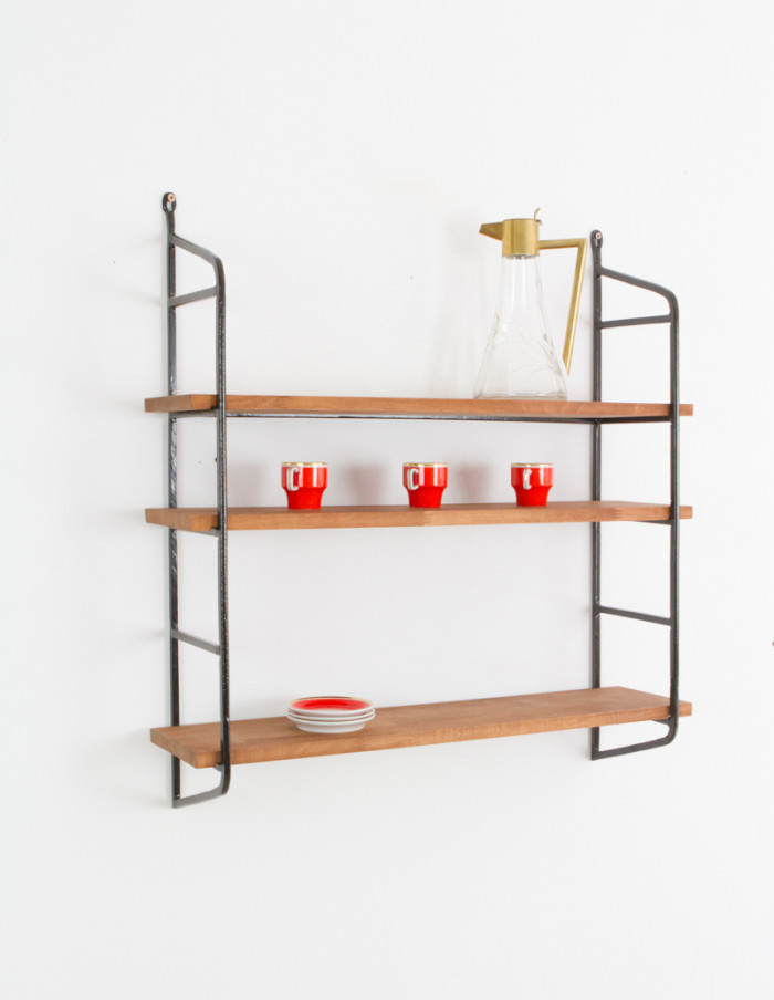 Large Iron Panni Shelf (black)-5