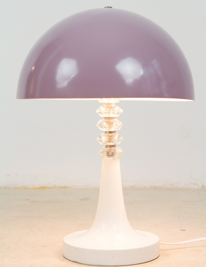 Mallow Table Lamp with Christal Decoration-8
