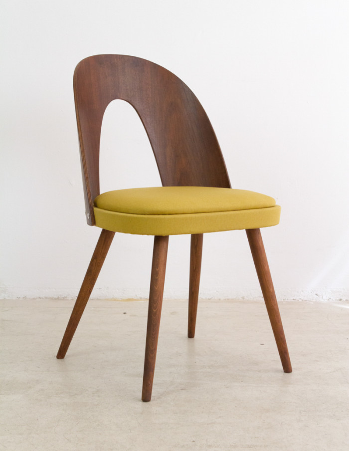 Perfectly Restored Tatra Dining Chair, from the 60's-1