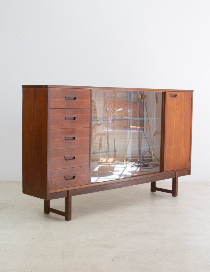 Wonderful Teak Cabinet by Turnidge of London-11