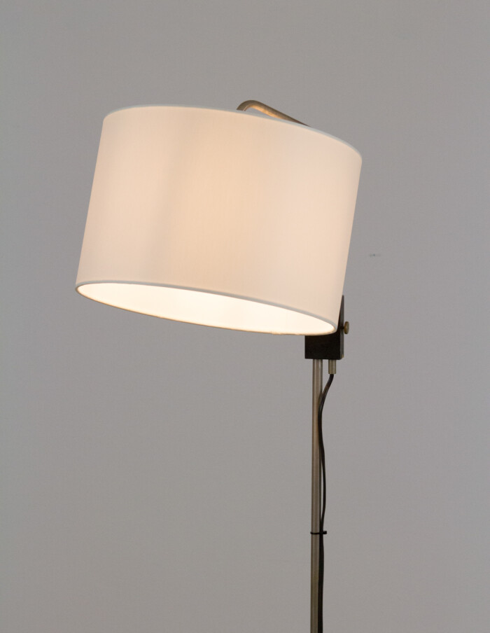Adjustable Floor LAmp with New Shade, 1970s-12