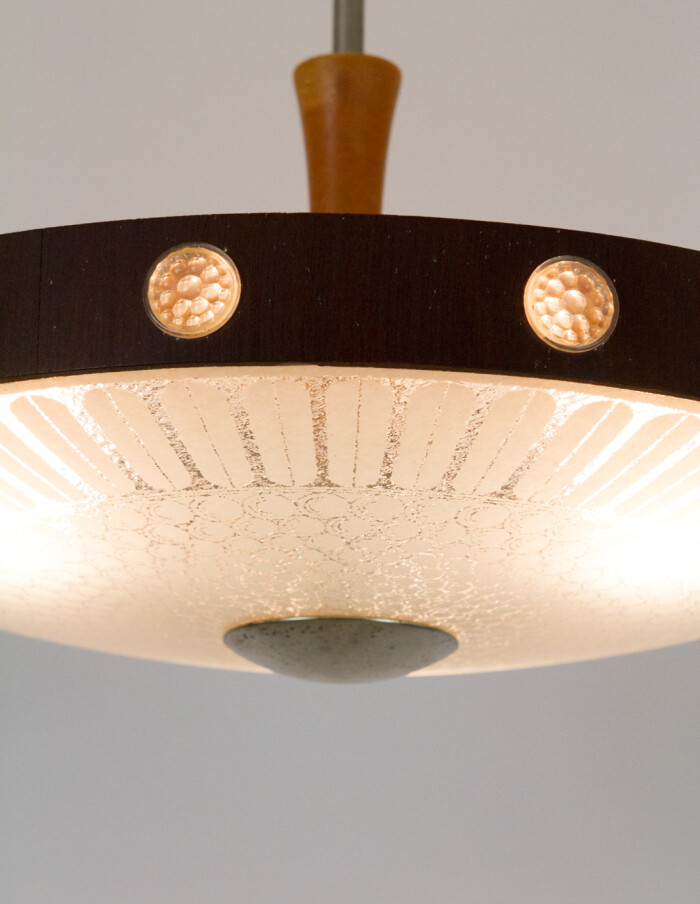 Ceiling Lamp from Mazzega, Italy 1970's-21