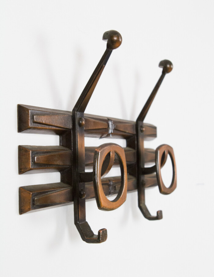 Mid-Century Brass Wall Hanger-3