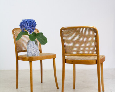 "Restored Thonet Chair Model 811 ""Prague"" (2 pieces)"
