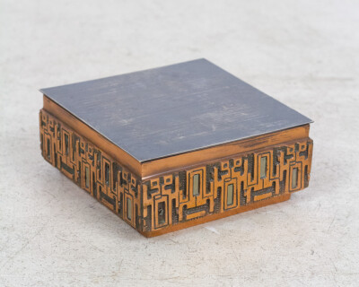 Artisan Brass Box (signed)