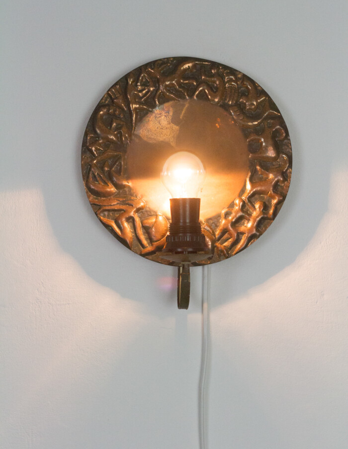 Artisan Brass Wall Lamp-8