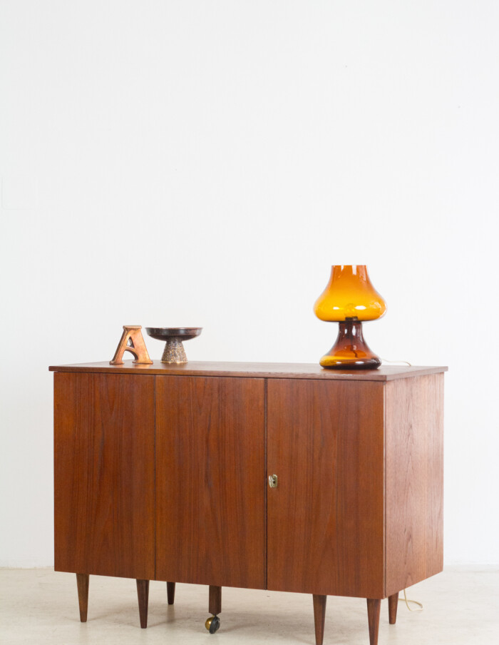 Extremly Rare English Metamorphic Sideboard-Desk, 1960's-30