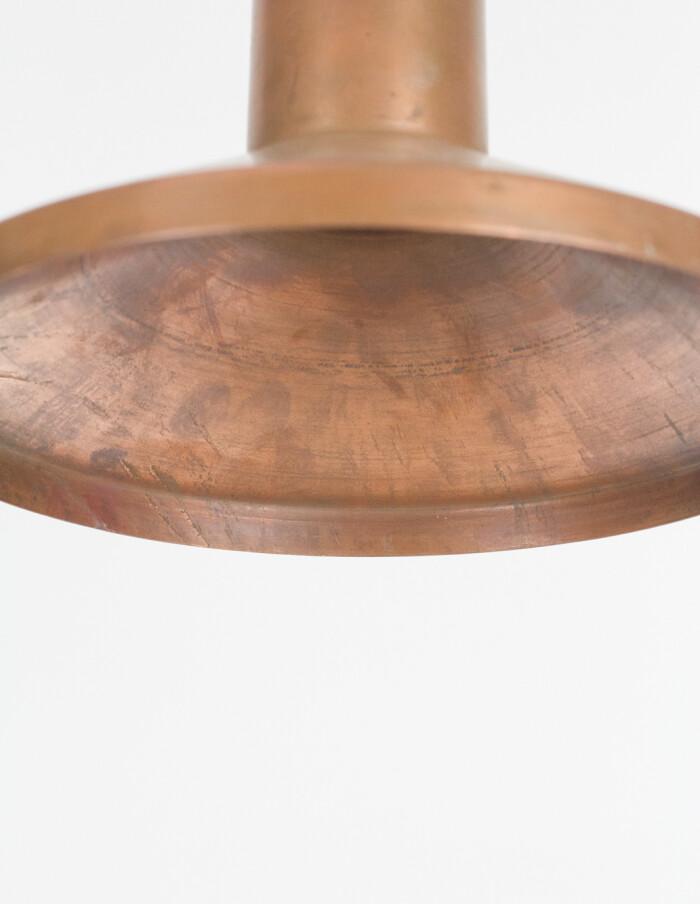 Mid-Century Brass Pendant-5