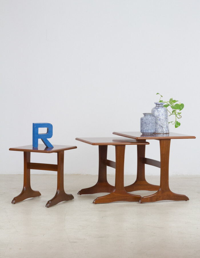 Parker Knoll Nesting Tables, 1960's-17