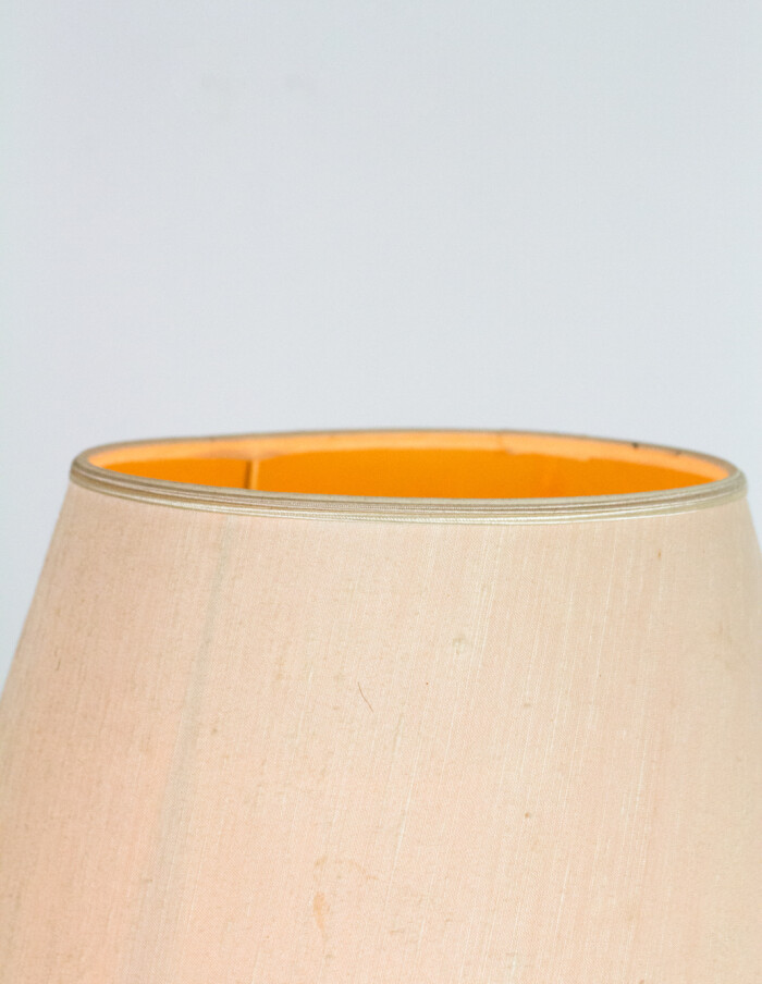 Pretty Teakwood Floor Lamp with Copper Parts, 1960's-11