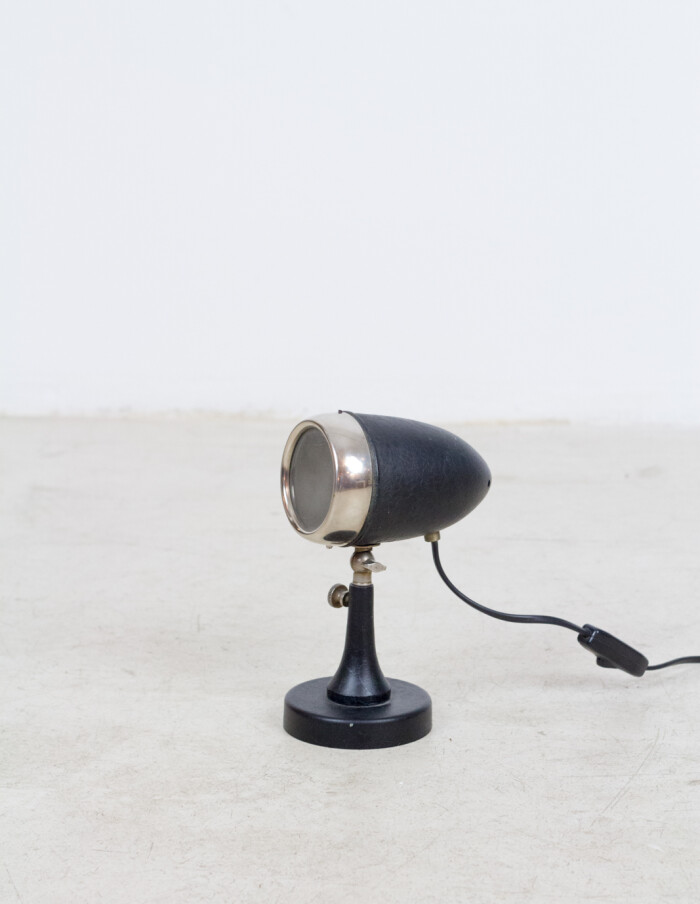Tiny Microfon Black Table Lamp-2