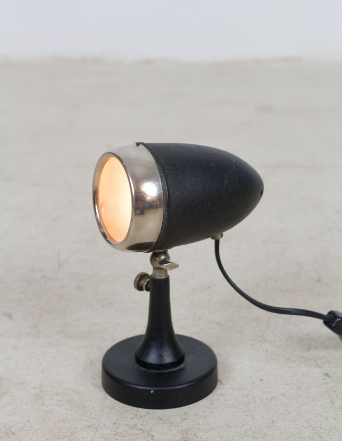 Tiny Microfon Black Table Lamp-8