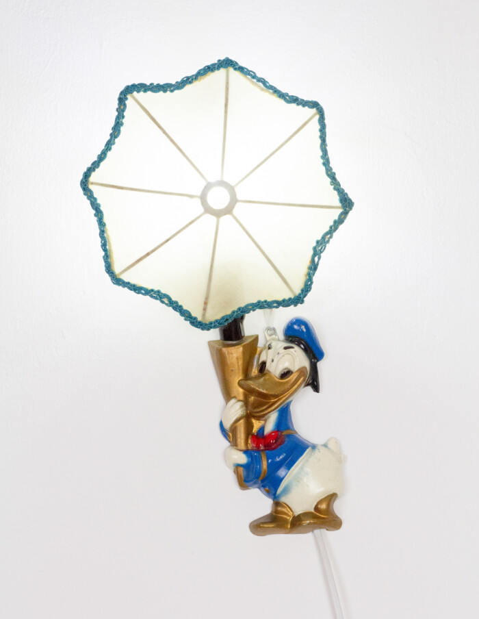 Vintage Donald Duck Wall Lamp-14