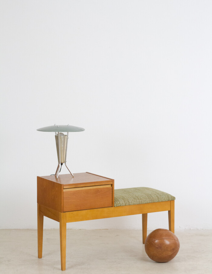 Vintage English Telephone Stand, 1960's-16