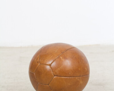 Vintage Leather Ball