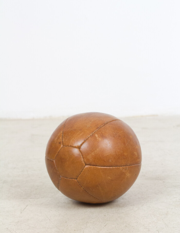 Vintage Leather Ball-2